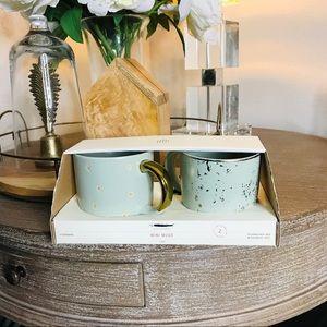 Hearth and hand mini mugs new